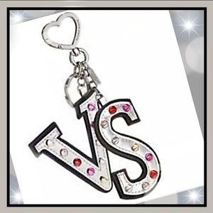 New! Victoria's Secret Rock Envy Keychain